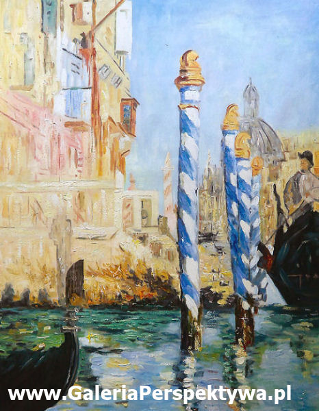 Grand Canal - Edouard Manet