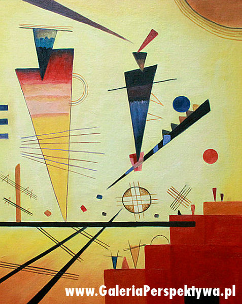 Merry structure - Wassily Kandinsky